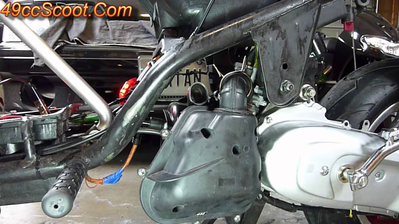 100cc Engine Diagram Scooter Sounds Stock Airbox Sound With And Without The