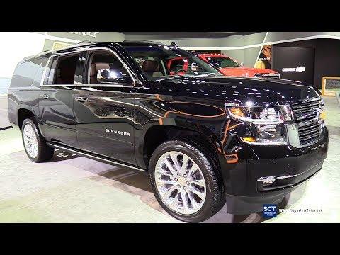 2019 Chevrolet Suburban Premier - Exterior and Interior Walkaround - 2018 LA Auto Show