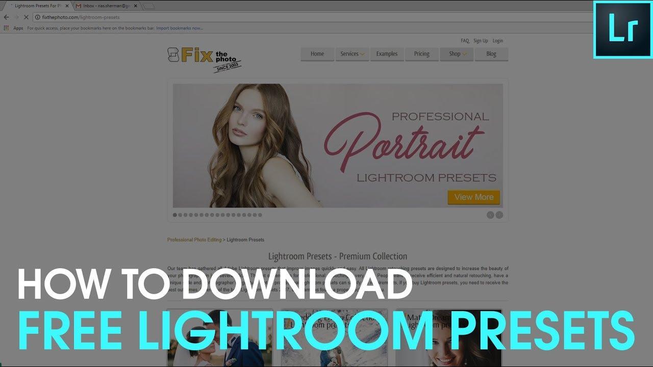 presets lightroom download pack free