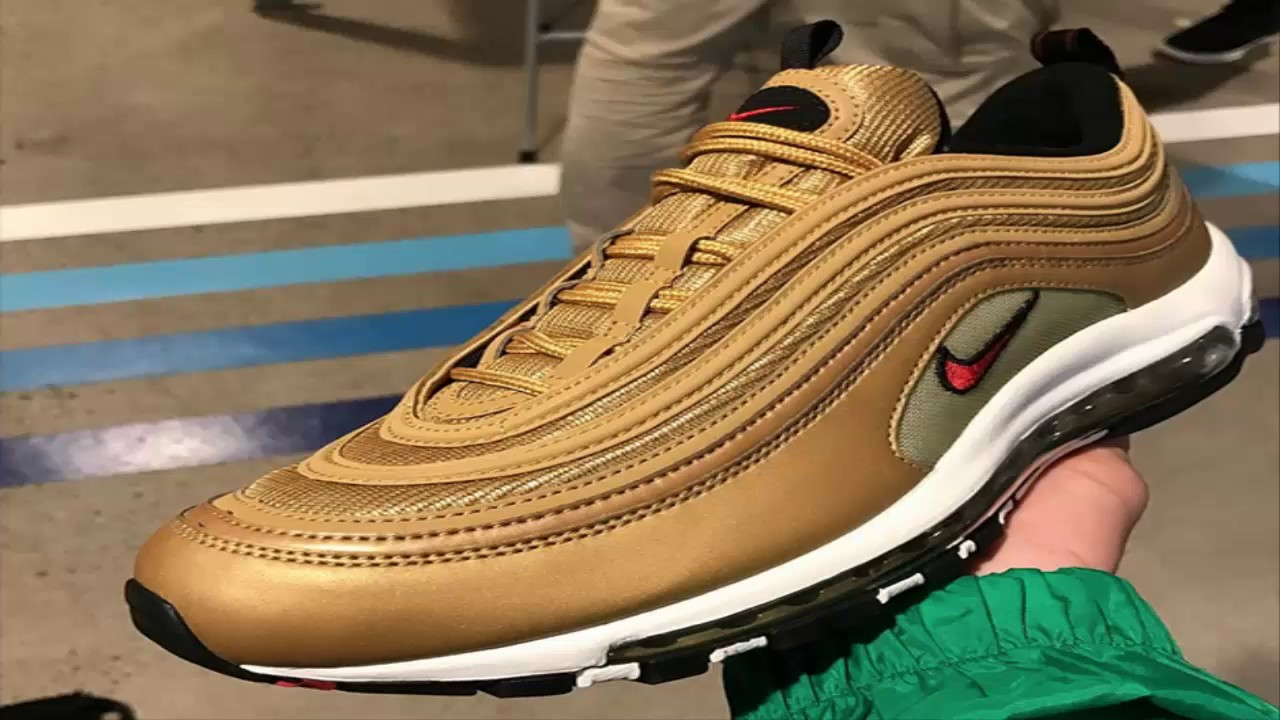 air max 97 gold medal Shoe ...