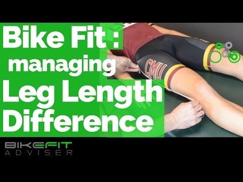 Manage Leg Length Difference | Bike Fit