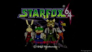 Star Fox 64 - Wii U Virtual Console Gameplay - eshop EU [ HD ]