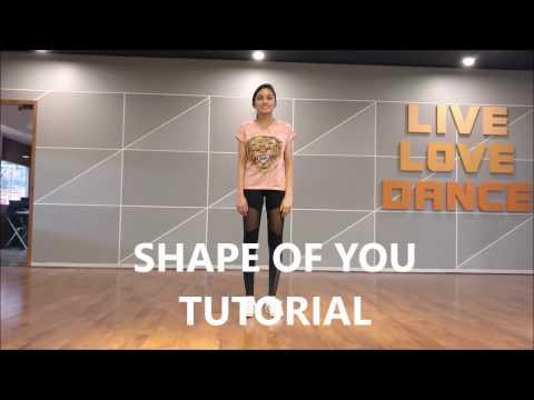 TUTORIAL # SHAPE OF YOU# ED SHEEREN# RITU'S DANCE STUDIO, SURAT.