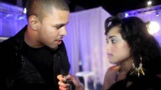 BET Awards 2011//PinkGrasshopper Interviews JCole