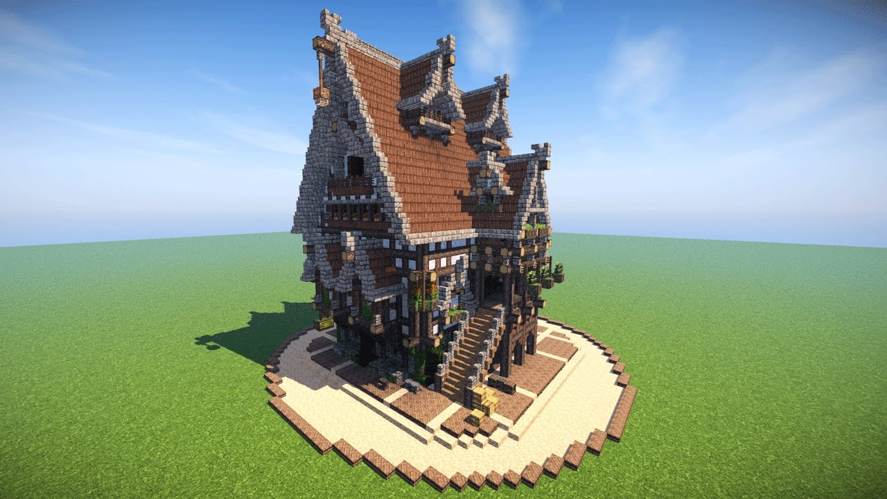 The Ultimate Minecraft House    Let U0026 39 S Build An Epic Medieval Mansion