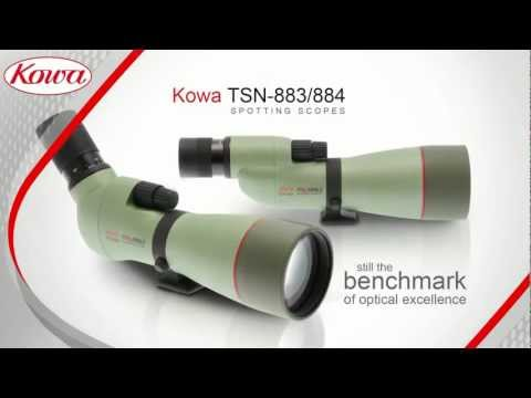 Kowa TSN-883 and 884 series spotting scopes