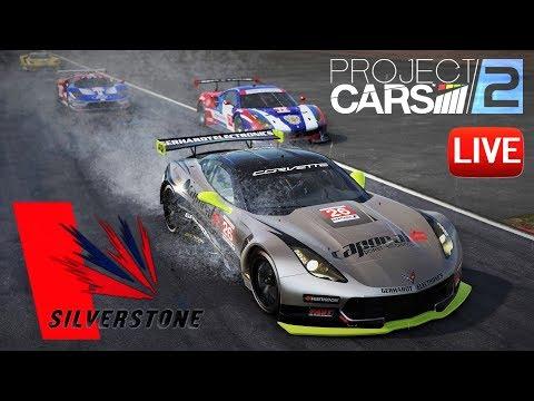 Project CARS 2: GTE Silverstone GP ДОЖДЬ! - прямой эфир