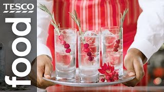 How to make a festive gin and tonic   Tesco Food
