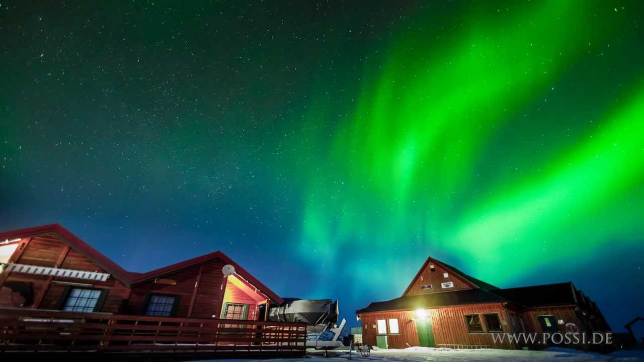 Aurora Borealis Northern Lights Time Lapses In Norway