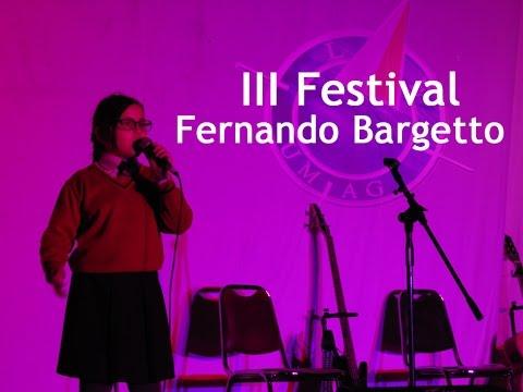 III Festival Fernando Bargetto