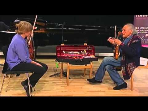Ivry Gitlis Masterclass Denmark 2013