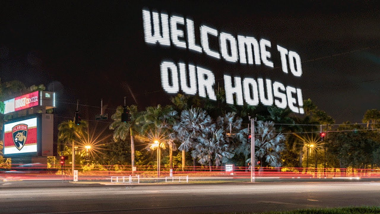 welcome to our house florida panthers youtube rh youtube com welcome to our house eminem welcome to our house slaughterhouse