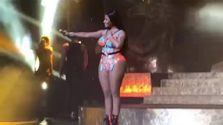 Hard White - Nicki Minaj Live in Brazil São Paulo at Tidal Vivo Event Credicard Hall