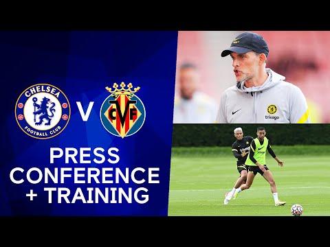 Tuchel, Kovacic & Rudiger press conference + Live training: Chelsea - Villarreal |  UEFA Super Cup
