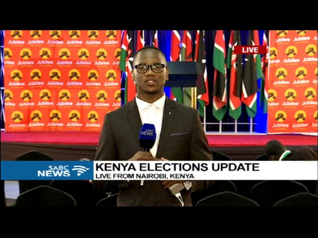 Kenyatta takes the lead against his rival, with about 85% results counted