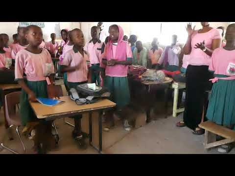 Grade 2 at Presentation of Mary School, Brikama, The Gambia