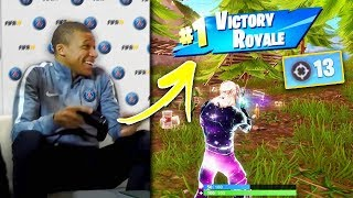 FAMOUS Footballers You Dont Know Play Fortnite!