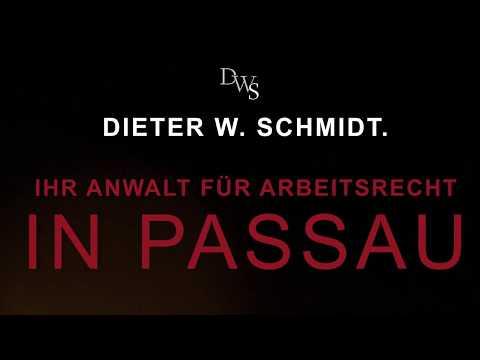 Arbeitsrecht Passau   Rechtsanwalt Dieter Schmidt