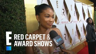 Chanel Iman Talks Presenting at Revolve Awards | E! Red Carpet & Live Events