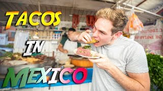 MEXICAN STREET FOOD TOUR - Best TACOS in Mexico City!
