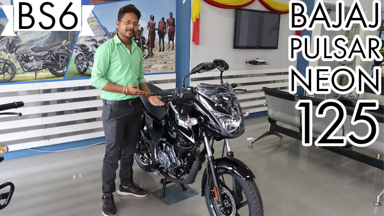 Bajaj Pulsar 125 BS6 | Neon Silver Color | Detailed Review with On Road Price 2020 🔥🔥🔥