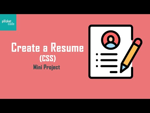 How To Create A Resume || HTML And CSS Mini Project (Part-2)