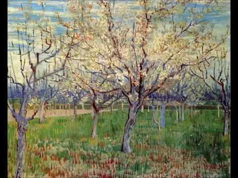 Van Gogh. Cuadros de árboles