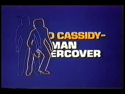DAVID CASSIDY: MAN UNDERCOVER opening credits NBC crime drama