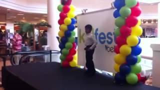 Eashan at Belk store-08/11/12
