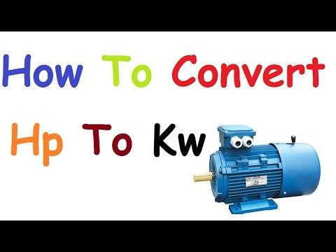 amps to kw formula pdf