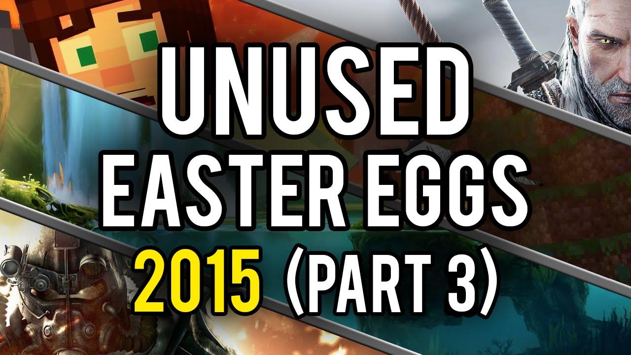 Best Unused Video Game Easter Eggs of 2015 (Part 3) - YouTube