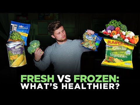 FRESH VS FROZEN Fruits and Vegetables | Which Are More Nutritious?