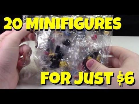 20 MINIFIGURES FOR $6? BUYER BEWARE! LEGO SCAM!