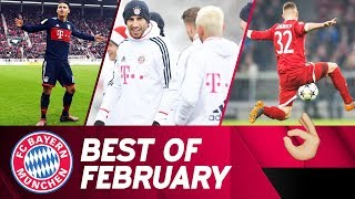 Bundesliga, DFB Cup & Champions League: FC Bayern in Top Form in February 2️⃣0️⃣1️⃣8️⃣ 🔥