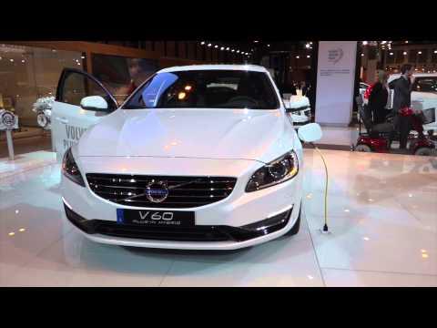 Volvo V60 Plug-in Hybrid at Madrid Motor Show 2014 | AutoMotoTV