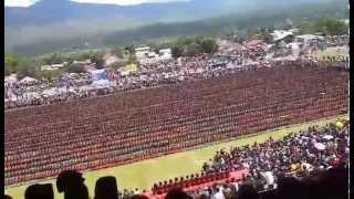 Tari Saman Gayo 5005 peserta (24 November 2014)