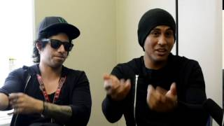 Interview with Robert and Thrasher from Escape The Fate