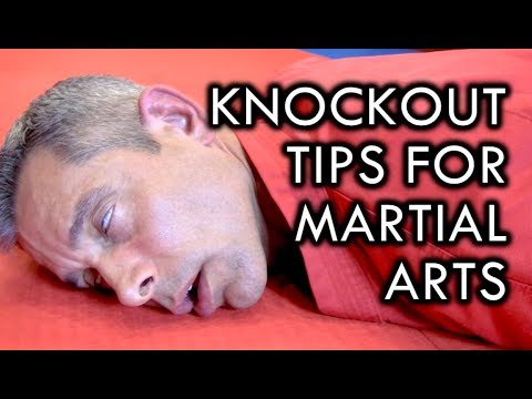 Knockout Tips For Martial Arts
