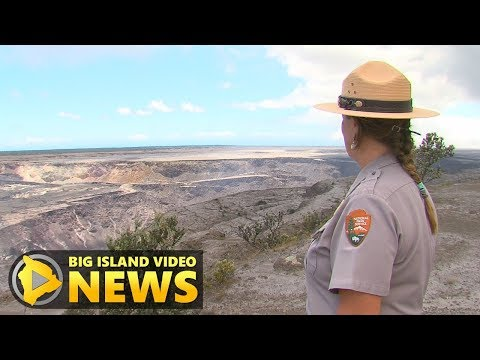 Hawaii Volcanoes National Park Changed By Eruption (Aug. 17, 2018)