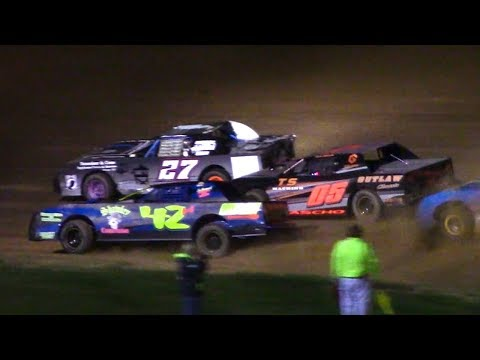 Pure Stock Feature   McKean County Family Raceway   5-19-18