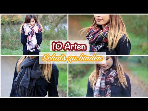 0dff0b4c69d64d 10 Arten Schals zu binden! | Kisu - YouTube
