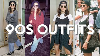 Recreating 90's Celebrities Street Style Outfits!   Ep. 1