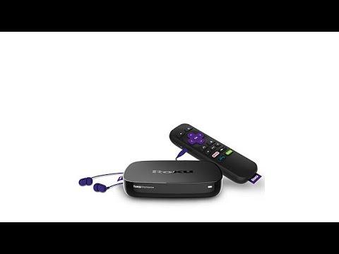 Roku Premiere+ WiFi 4K UHD HDR Media Streamer Bundle