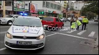 Accident rutier la intersecţia Ştefan cel Mare cu I.G.Duca, din Constanţa. O victima implicată