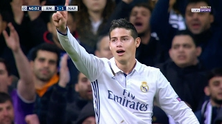 James Rodriguez vs Napoli Home HD (15/02/2017) by JamesR10™