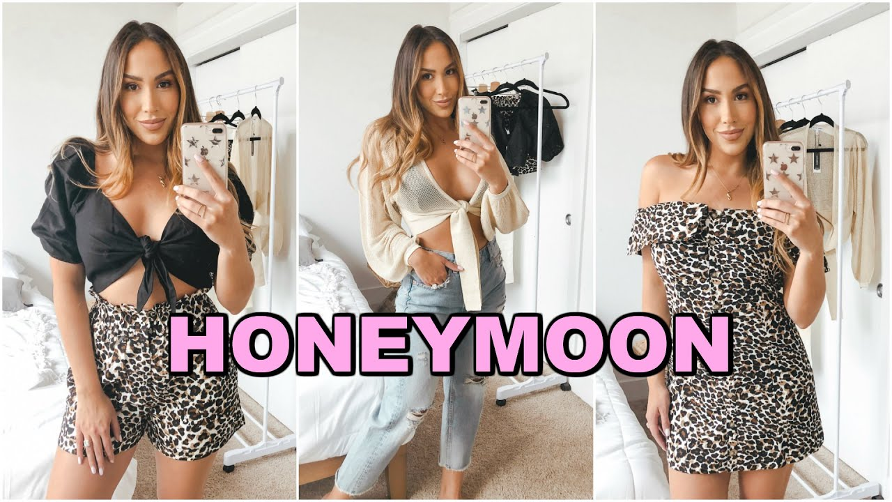 HONEYMOON OUTFIT IDEAS! SUMMER CLOTHING HAUL 9