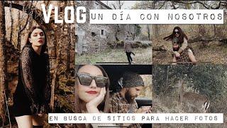VLOG | un DIA de SHOOTING otoñal con NOSOTROS | Dirty Closet