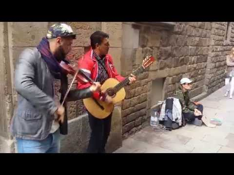 Music to Soothe the Soul Outside Barcelona's Picasso Museum