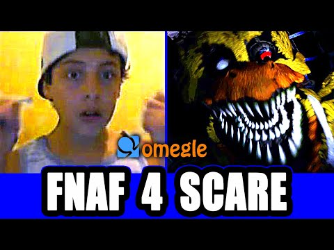 Five Nights At Freddy's 4 Prank On Omegle