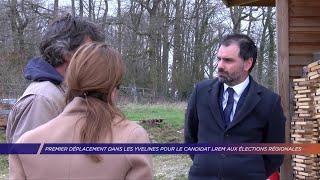 Yvelines | Premier déplacement dans les Yvelines pour le candidat LREM aux élections régionales
